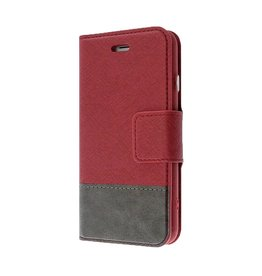 Caseco Caseco   Broadway 2-in-1 RFID Shield Folio Case - iPhone SE Red CC-BD-iPSE-RD