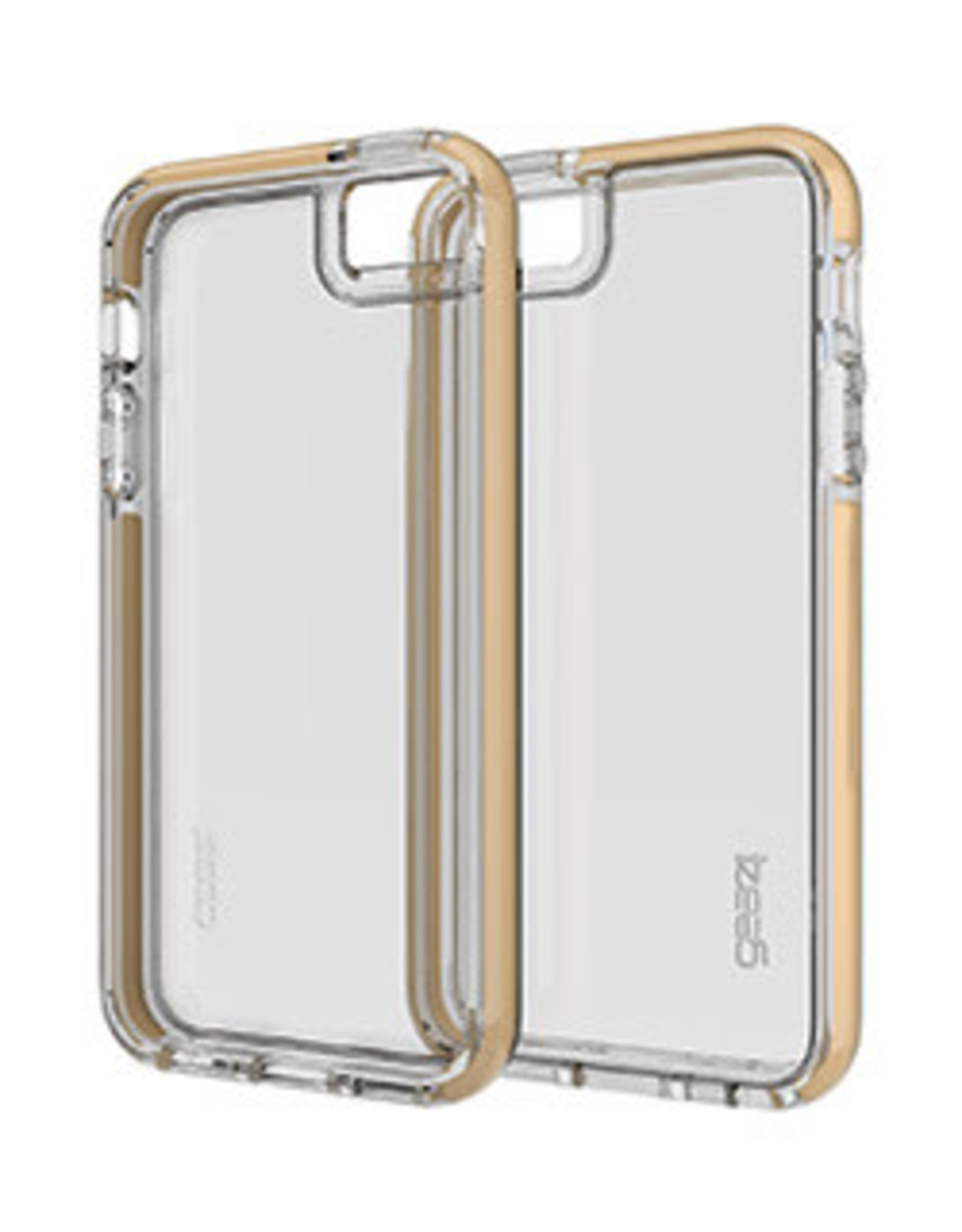 GEAR4 GEAR4 | iPhone 5/5S/SE D3O Clear Gold Piccadilly case | 15-00581
