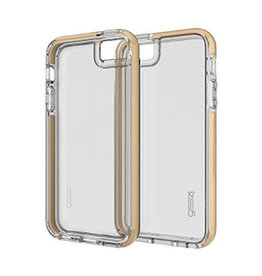 GEAR4 GEAR4   iPhone 5/5S/SE D3O Clear Gold Piccadilly case   15-00581