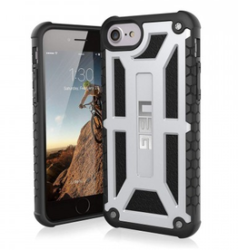 UAG UAG | iPhone 8/7/6S/6 Silver/Black (Platinum) Monarch Series case | 112-9192