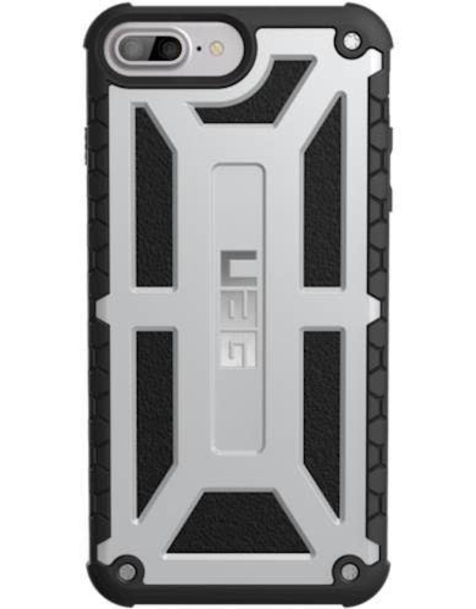 UAG UAG   iPhone 8/7/6/6s Silver/Black (Platinum) Monarch Series case   15-01100