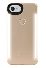 LuMee | iPhone 8/7/6s/6 Duo Illuminating Case - Gold Matte | LM-LD-IP7-GOLDMT