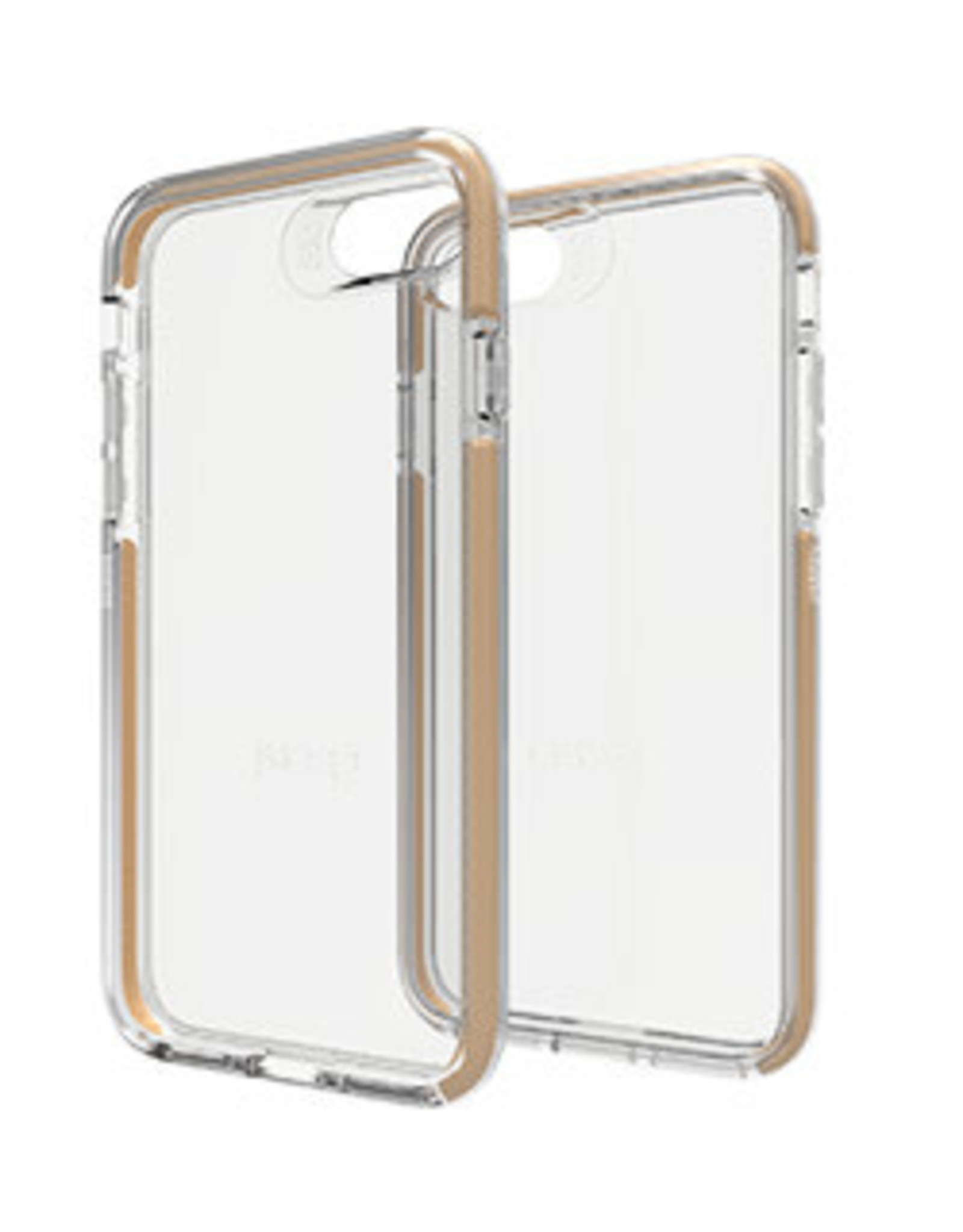 GEAR4 GEAR4 | iPhone 8/7/6/6s D3O Clear/Gold Piccadilly case | 15-00942