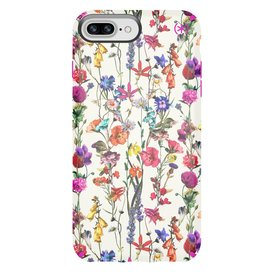Speck Speck | iPhone 8/7/6S/6 Plus Presidio Inked-White Flowers/Pink | 1096687286