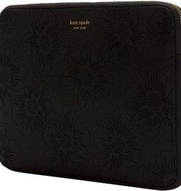 Kate Spade | Slim Sleeve Black Matte/Shiny Hollyhock for MacBook Pro 13 inch 108-0026