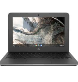 "HP HP - 11 G7 EE 11.6"" Chromebook - Gray (Intel Celeron N4000 / 16GB eMMC / 4GB RAM / Chrome OS)   (6QY22UT#ABA)"