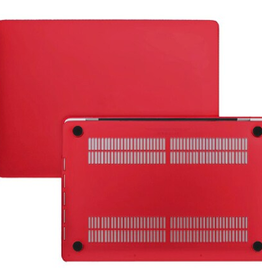 Blu Element Blu Element - Hardshell Soft Touch Case Red for MacBook Air 13 inch 120-0074