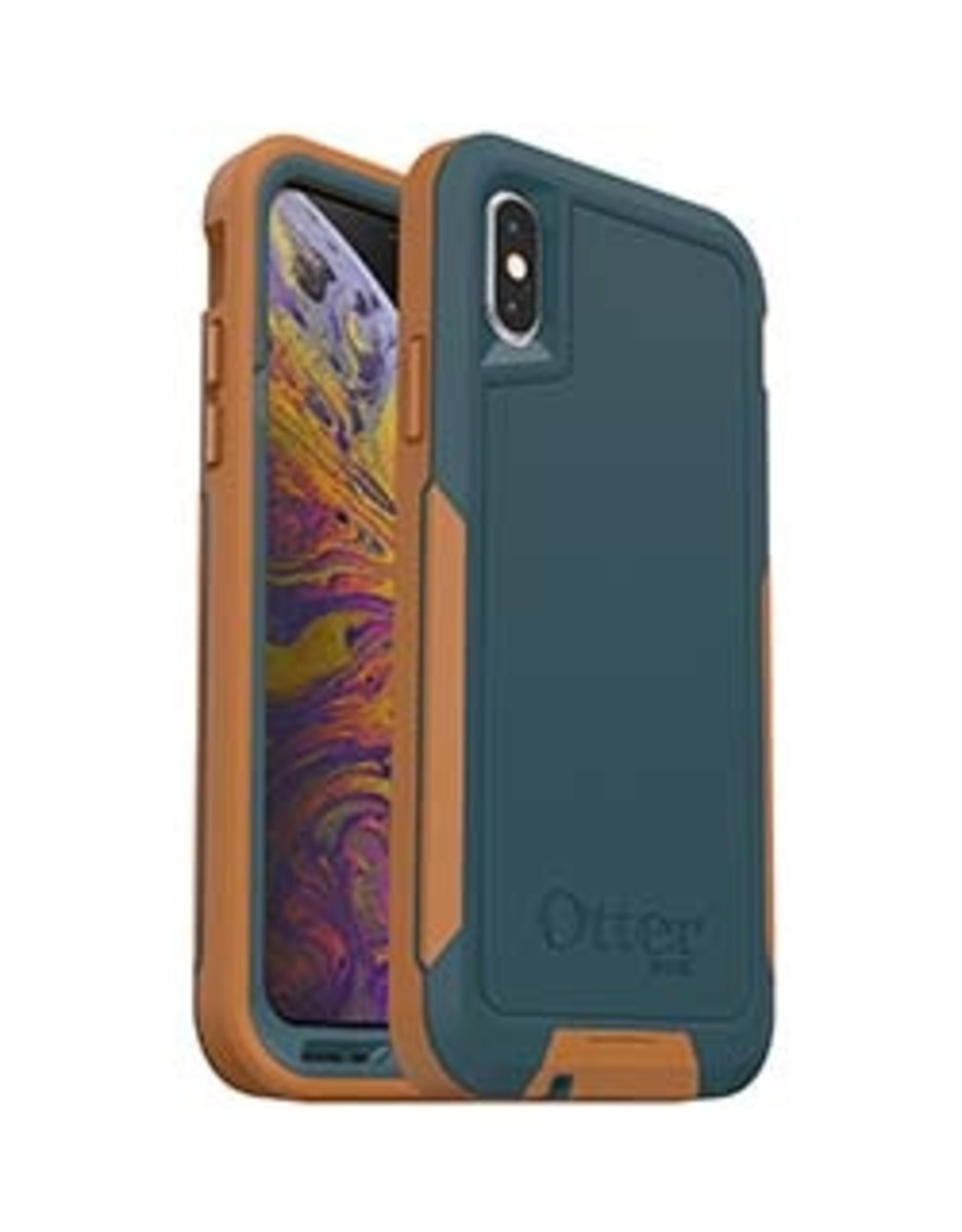 Otterbox iPhone X/Xs OtterBox Navy/Tan (Desert Spring) Pursuit Series case 15-02402
