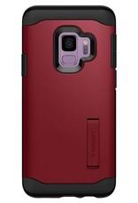 Spigen Spigen Slim Armor Case for Samsung Galaxy S9 - Merlot Red