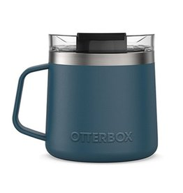 Otterbox Otterbox | Stainless Steel Blue/Silver (Big Teal) Elevation 14oz Mug w/ Closed Lid 15-06561