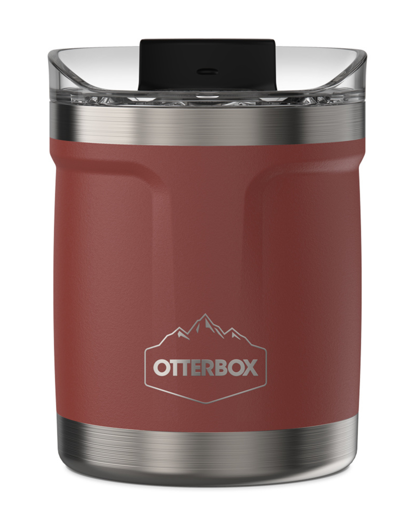 Otterbox Otterbox - Elevation Tumbler with Closed Lid 10 OZ Baked Mud (Stainless Steel/Baked Brick) 102-0086