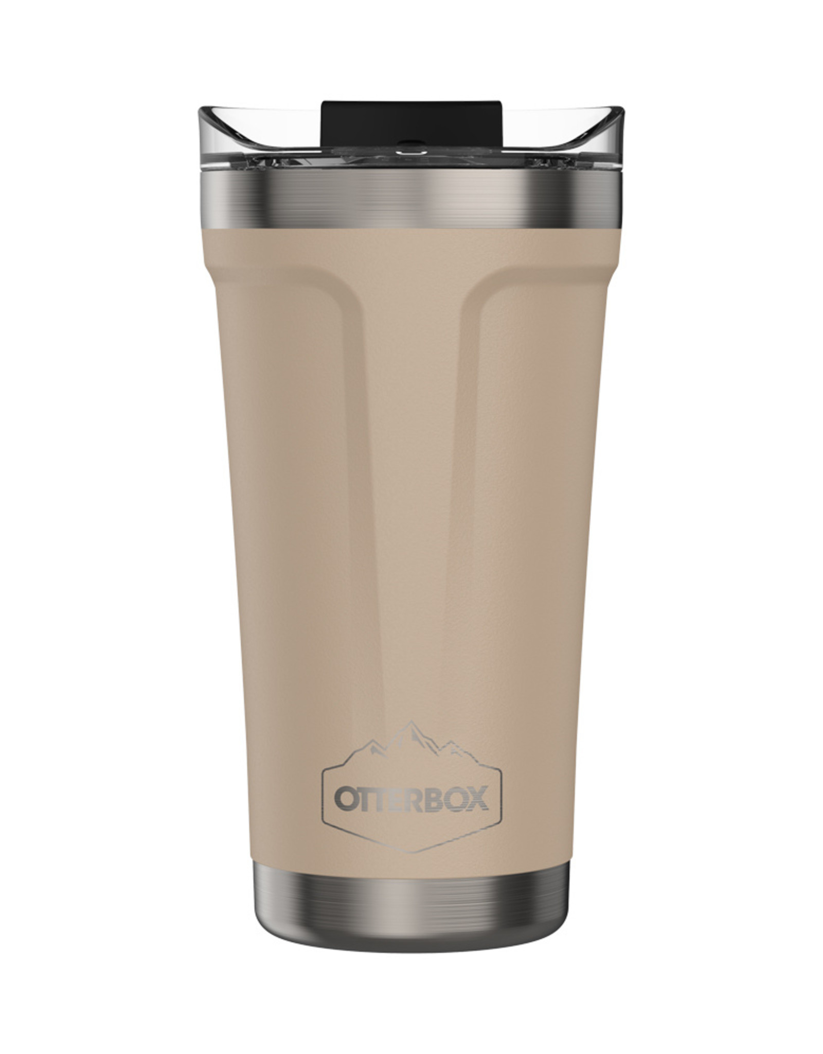 Otterbox Otterbox - Elevation Tumbler with Closed Lid 16 OZ Frappe (Stainless Steel/Bleached Sand) 102-0095