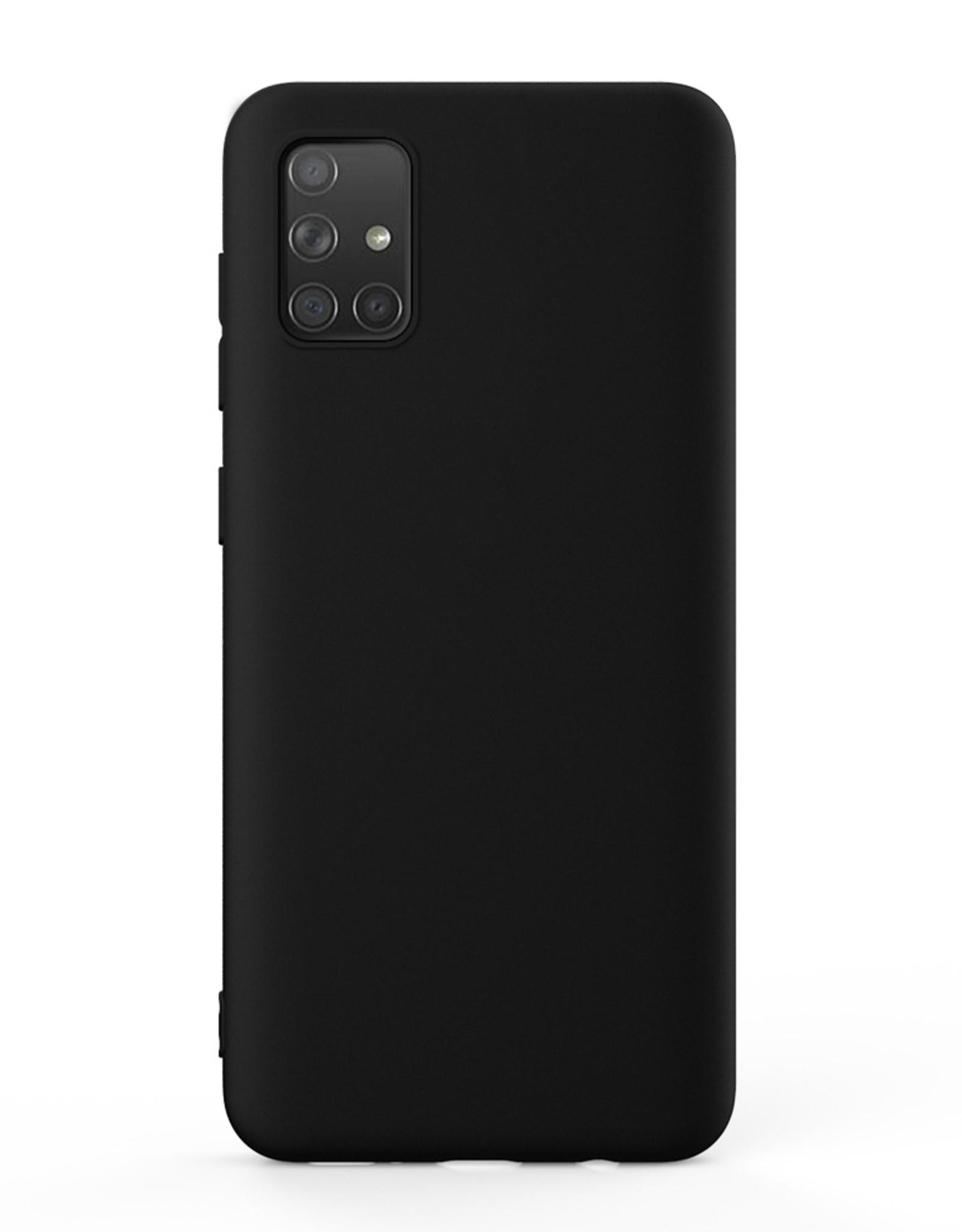 Blu Element Blu Element   Gel Skin Galaxy A51 Black 120-2859