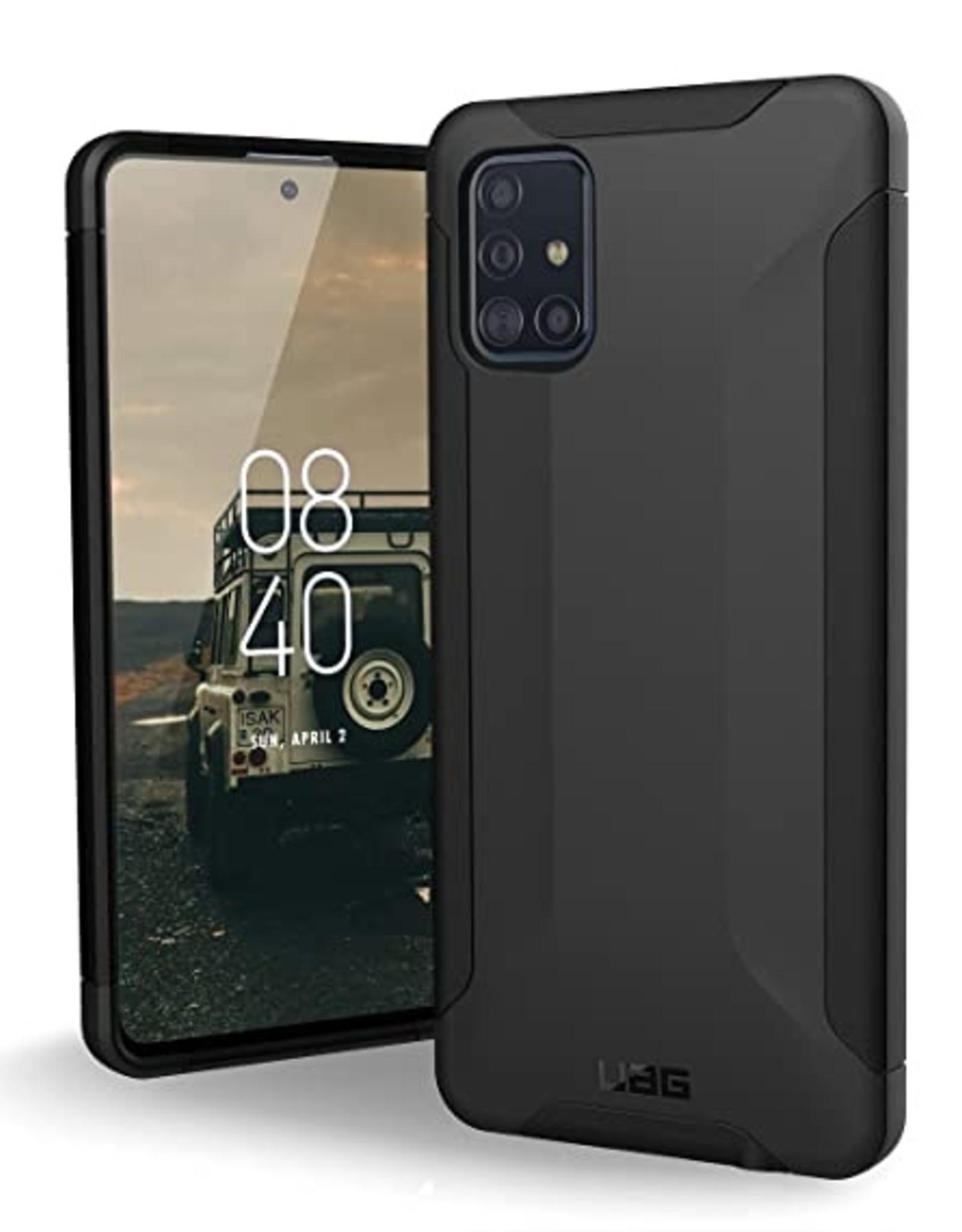 UAG Gear4 | Samsung Galaxy A51 UAG Black Scout Series Case 15-07026