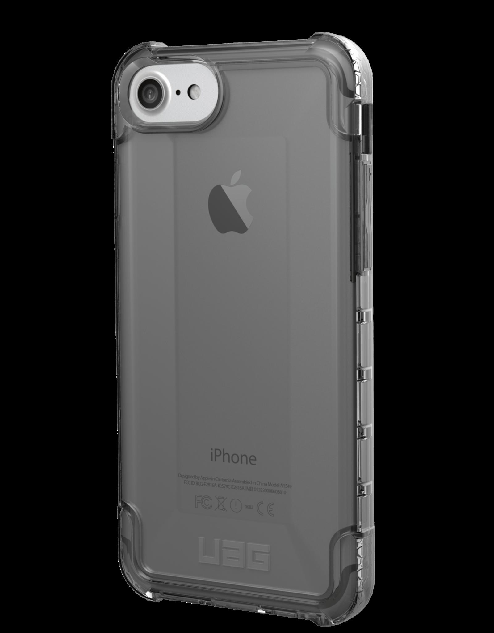 UAG iPhone SE (2020)/8/7/6S/6 UAG Clear/Black (Ice) Plyo Case 15-07027