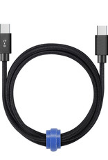 Blu Element Blu Element - Charge/Sync USB-C to USB-C Cable 4ft Black 107-1521