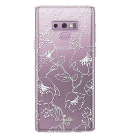 Kate Spade New York | Protective Hardshell Case Floral White for Samsung Galaxy Note9 | 120-1797
