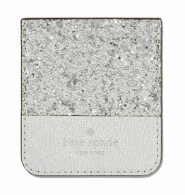Kate Spade New York | Sticker Pocket Glitter Silver 123-0003