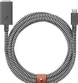 Native Union Native Union | USB C to HDMI Cable 3M BELT-C-HDMI-ZEB-3