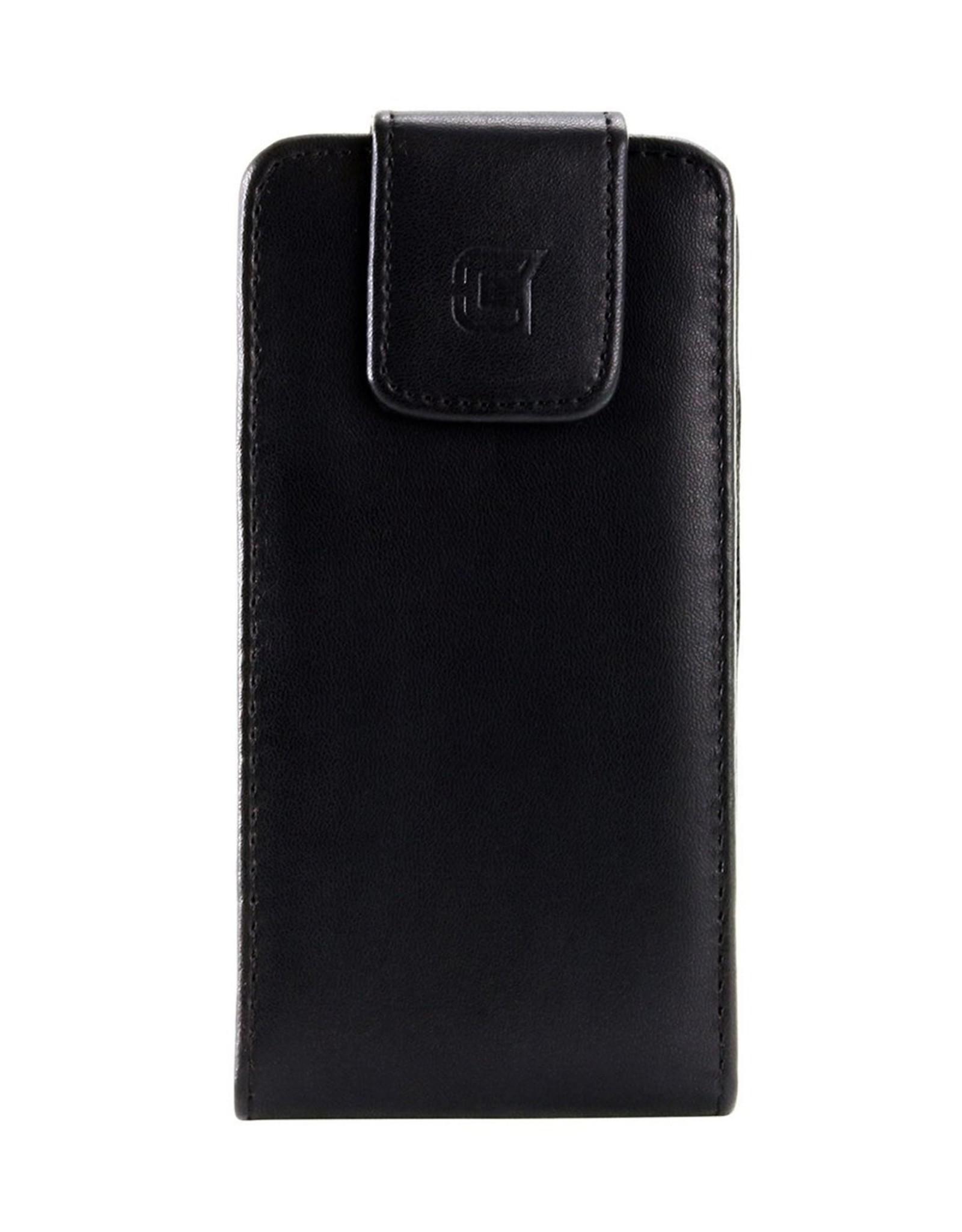 Caseco Caseco | Faux Leather Vertical Pouch w/ 360 Belt Clip - 6.5in CC-FL-PCH-6.5