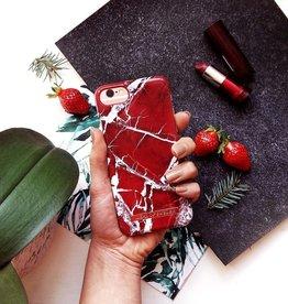 iDeal of Sweden Ideal of Sweden | Fashion Case For Samsung S8 Scarlet Red Marble C-IDFCS18-S8-71