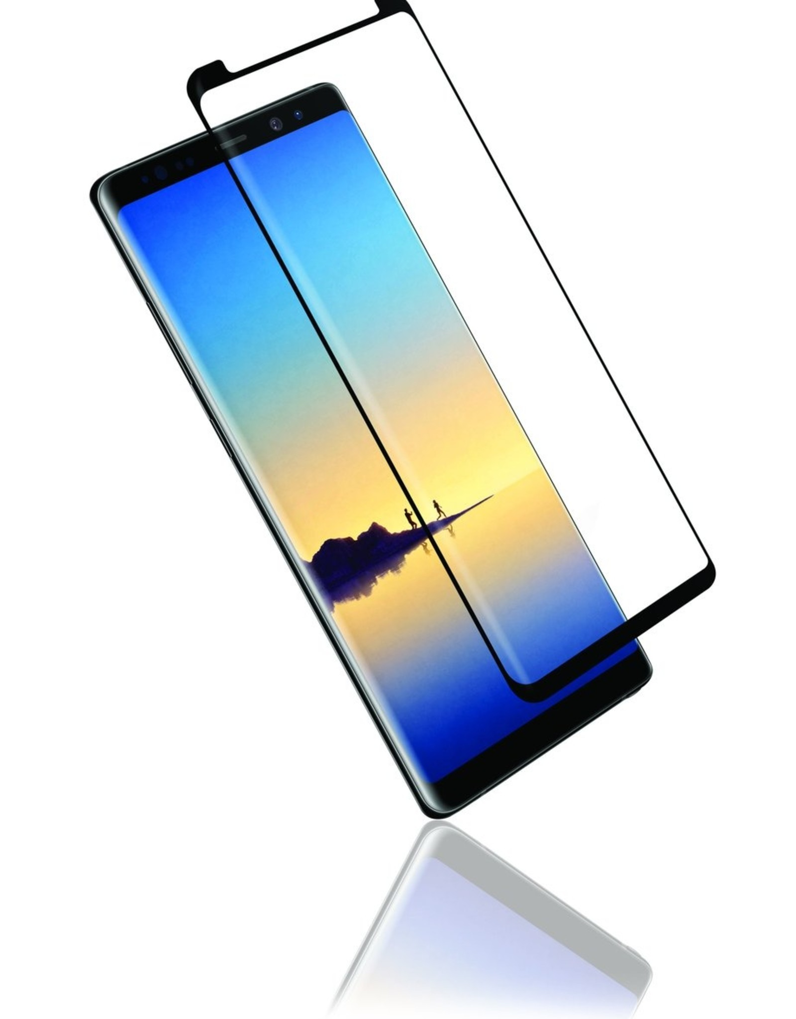 Caseco Caseco | Case Friendly Curved Side Glue Tempered Glass - Samsung Galaxy S9 Plus C4544-00