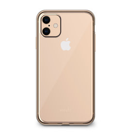 Moshi Moshi | Vitros Clear Case iPhone 11 Gold 120-2233