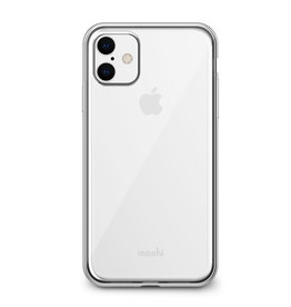 Moshi Moshi | Vitros Clear Case iPhone 11 Jet Silver 120-2234