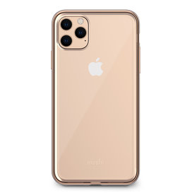 Moshi Moshi | Vitros Clear Case iPhone 11 Pro Max Gold 120-2241