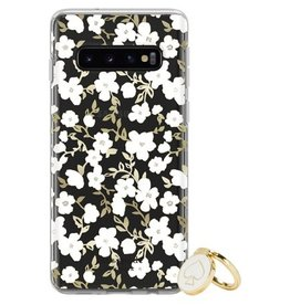 KSNY (Kate Spade New York) SO Kate Spade | Gift Set: Ring Stand Protective Hardshell Case Blockprint Floral for Samsung Galaxy S10e 120-1712