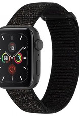 Case-Mate Case-Mate | Apple Watch (Series 1,2,3,4,5) 38/40mm Mixed Metallic Black Nylon Band 15-06496