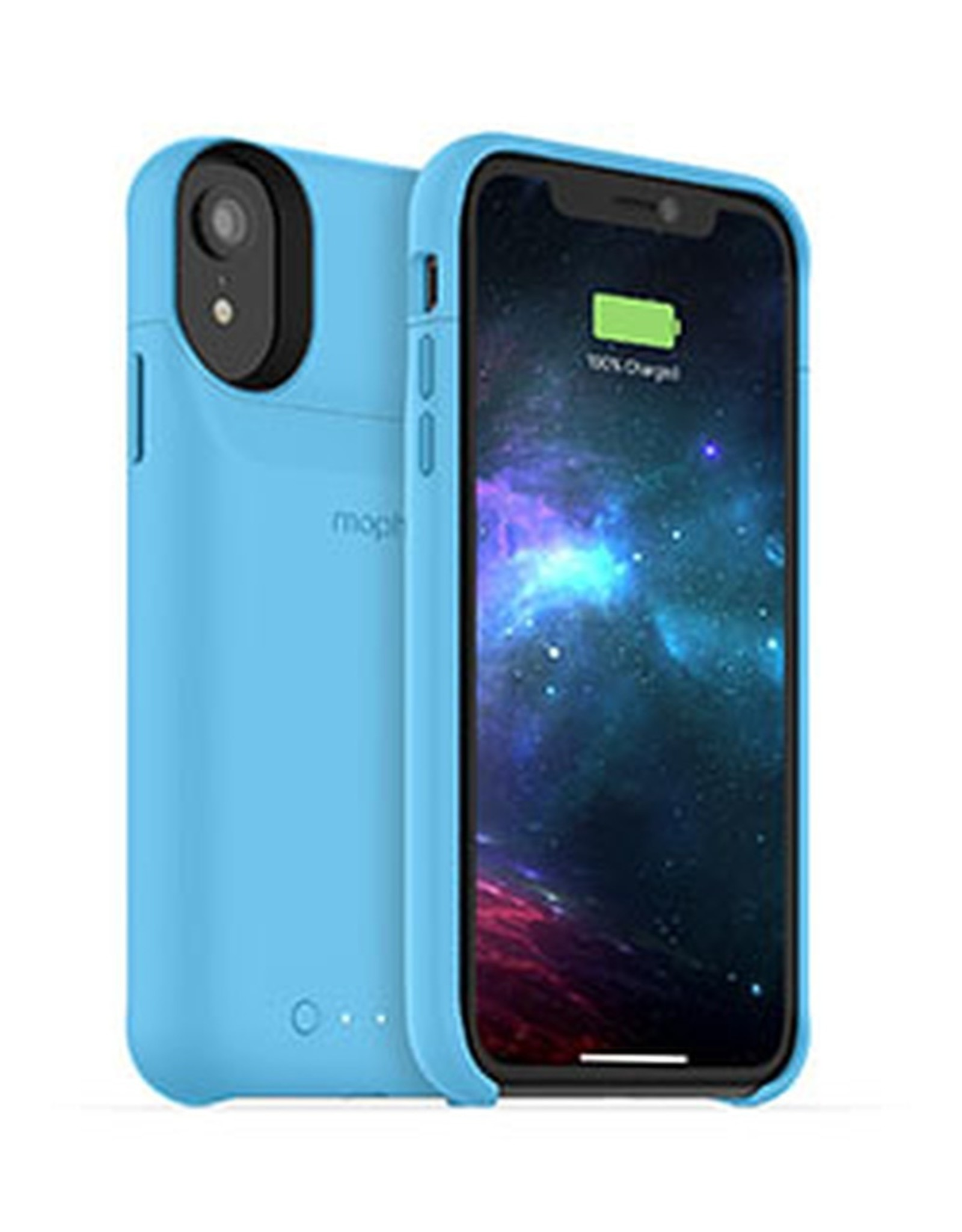 Mophie mophie iPhone Xs blue juice pack access case w/ Qi
