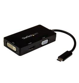 Startech Startech   USB-C TO VGA DVI OR HDMI 3-IN-1 CDPVGDVHDBP