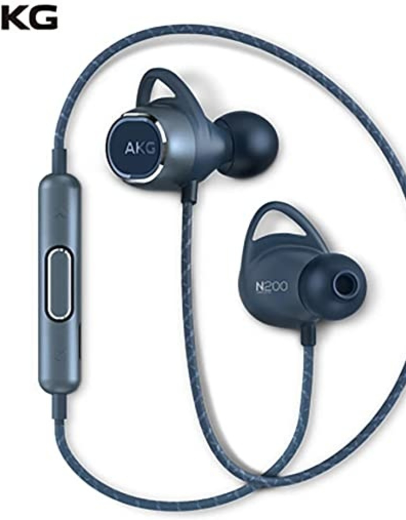 AKG AKG N200 | Earphones with mic - in-ear - Bluetooth - wireless - noise isolating - Blue