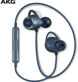AKG AKG N200 | Earphones with mic - in-ear - Bluetooth - wireless - noise isolating - Blue