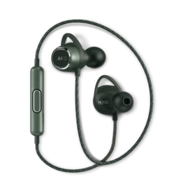 AKG AKG N200 | Earphones with mic - in-ear - Bluetooth - wireless - noise isolating - Green