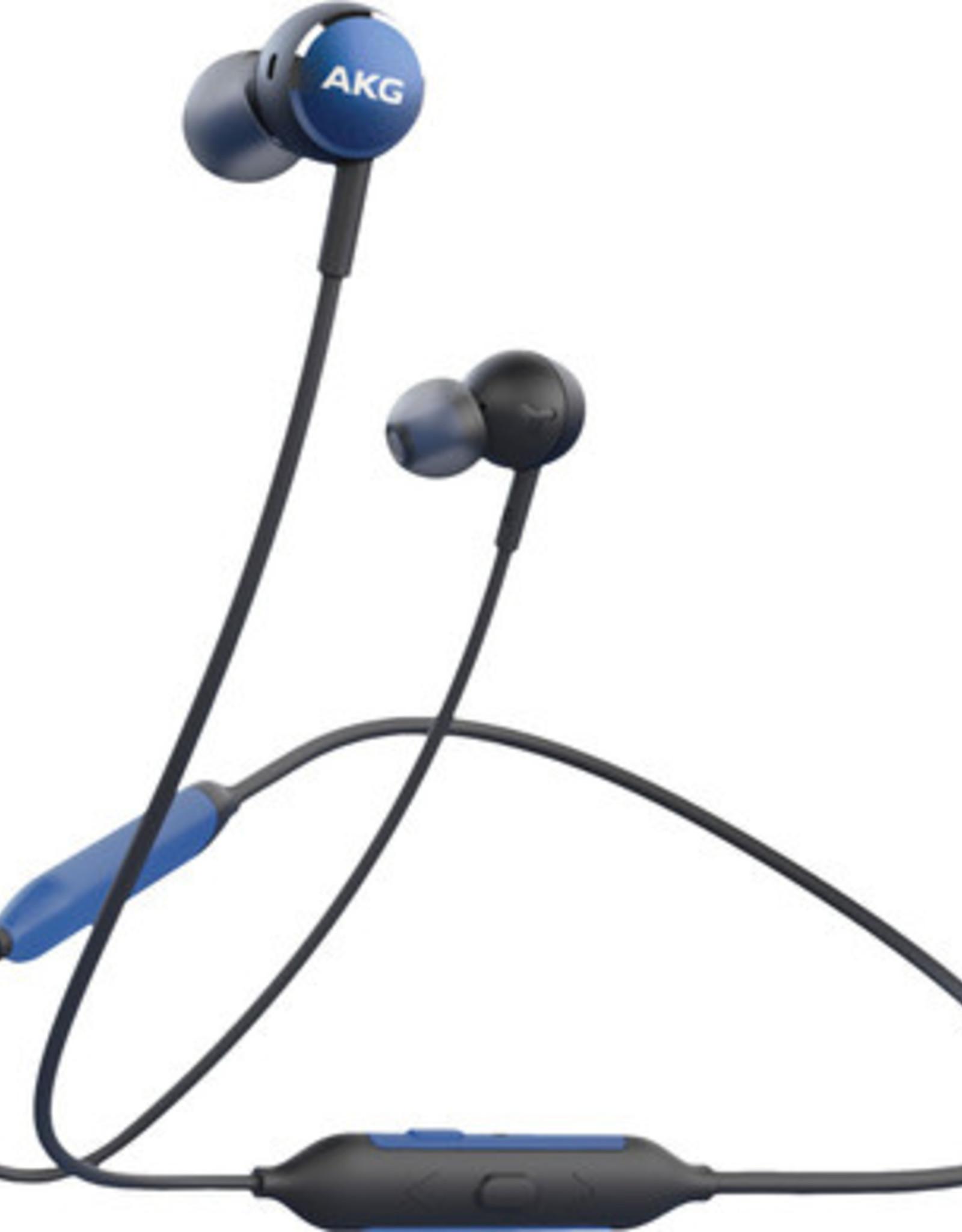 AKG AKG Y100 | Earphones with mic - in-ear - Bluetooth - wireless - Blue