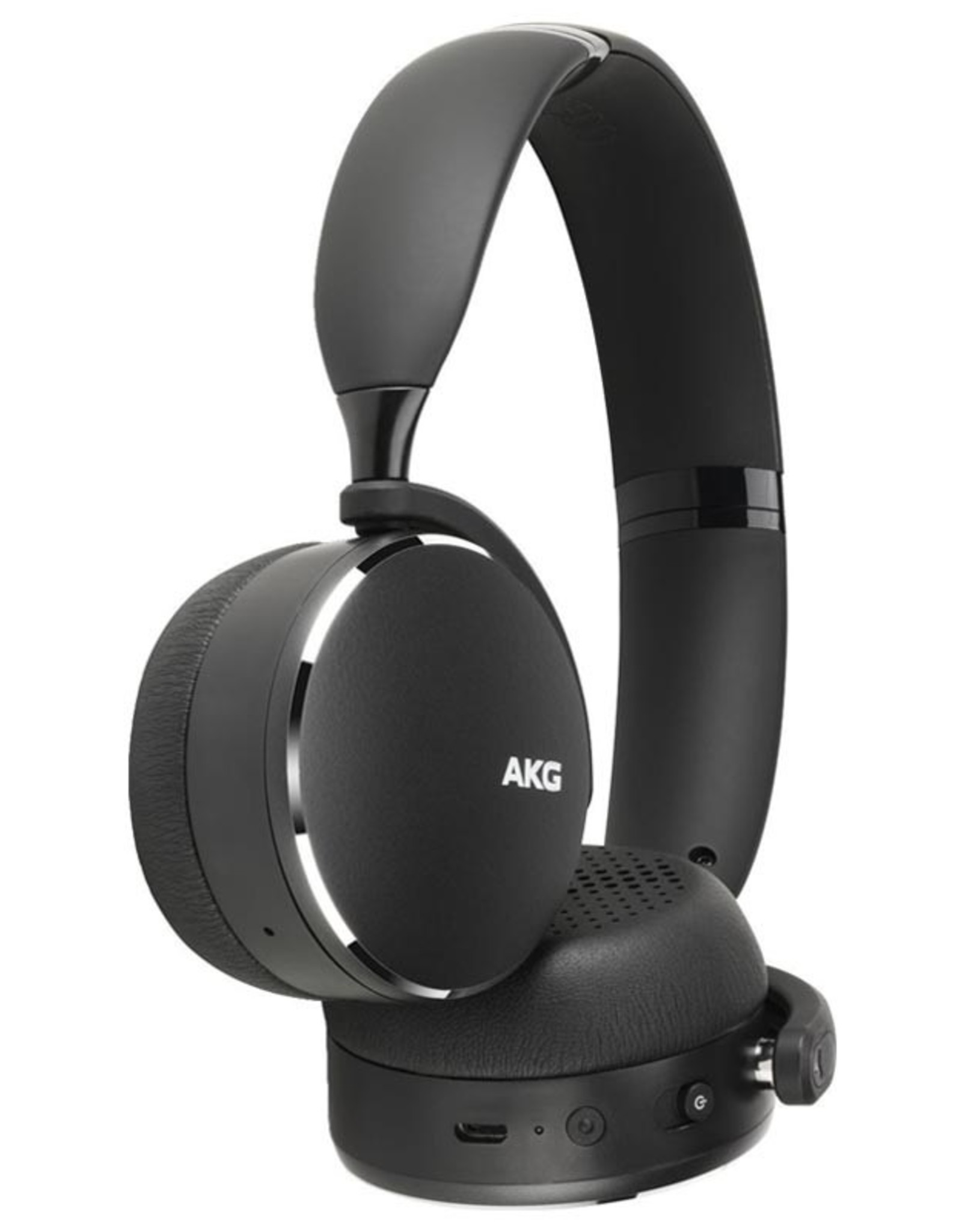 AKG AKG Y500 | Headphones with mic - on-ear - Bluetooth - wireless - black