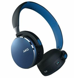 AKG AKG Y500 | Headphones with mic - on-ear - Bluetooth - wireless - blue