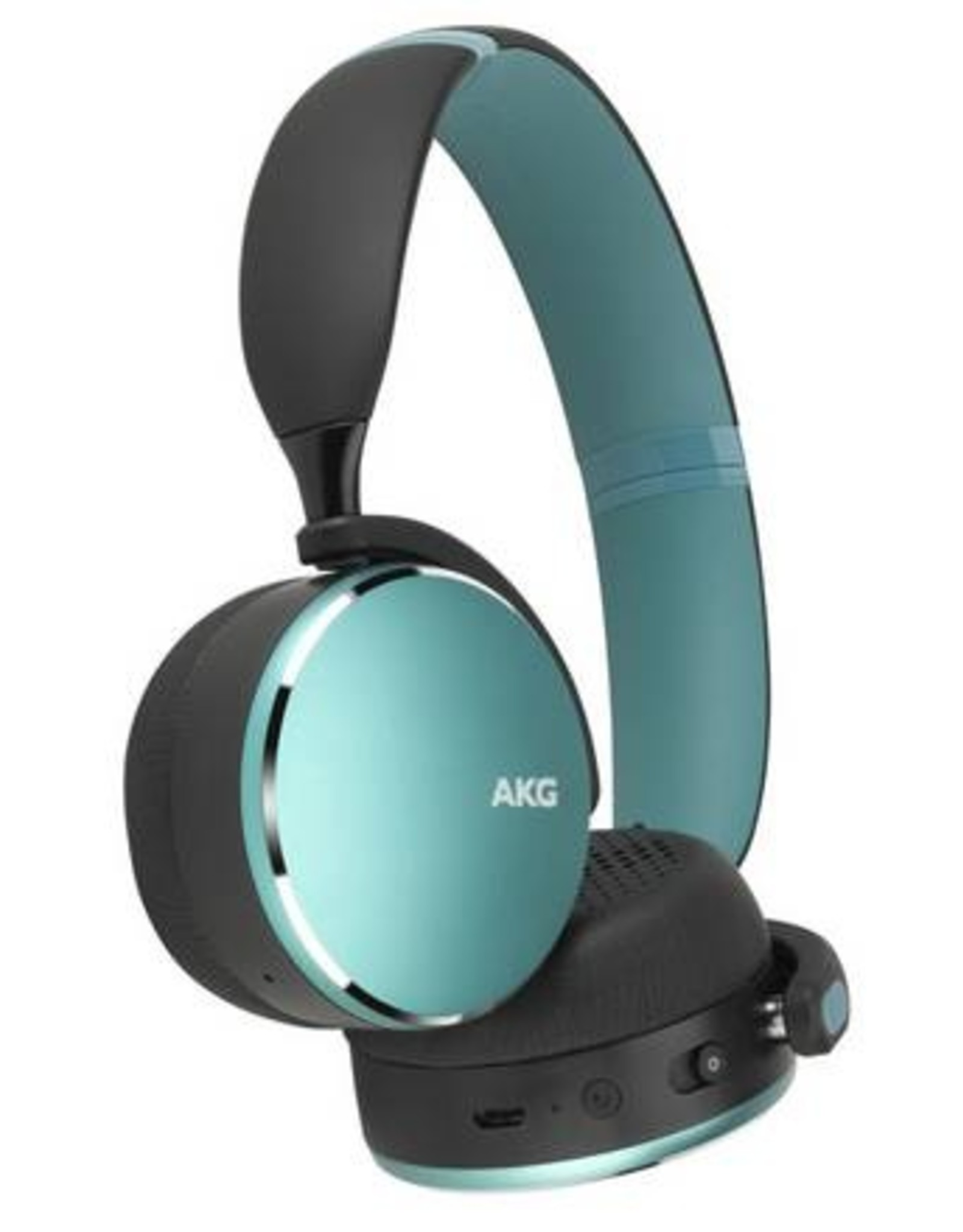 AKG AKG Y500 | Headphones with mic - on-ear - Bluetooth - wireless - Green