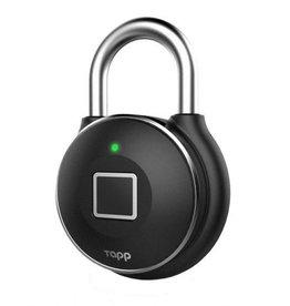 Tapplock One Smart Fingerprint Padlock Gunmetal IP67 TL104A