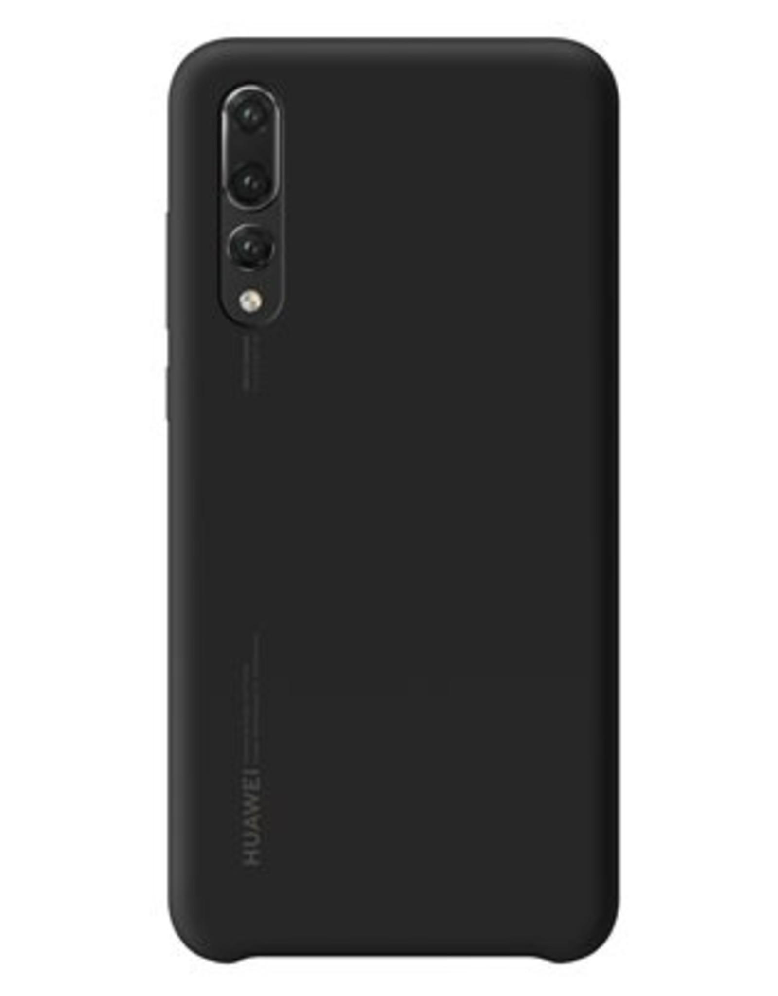 Huawei Huawei OEM silicone finish cover P20 Pro Black HWMS3014BK