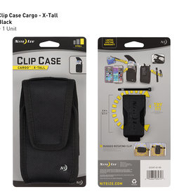Niteize Clip Case Cargo Universal Holster Tall Black