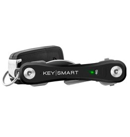 KEYSMART PRO COMPACT KEY HOLDER WITH TILE SMART LOCATION-BLACK KS411-BLK