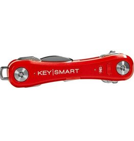 KEYSMART PRO COMPACT KEY HOLDER WITH TILE SMART LOCATION-REDK S411-RED
