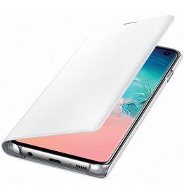 Samsung Samung Clear View Cover Samsung Galaxy S10 White 120-1379