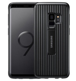 Samsung Samsung Protective Standing Cover Black Galaxy S9+ 120-0302