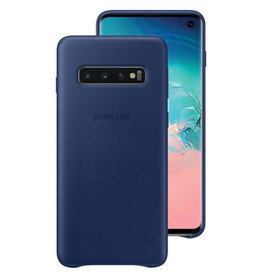 Samsung Samsung Leather Cover  Galaxy S10 Navy 120-1383