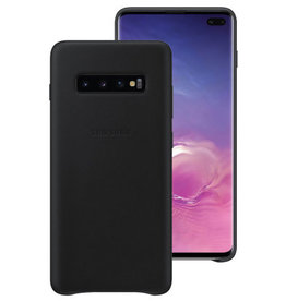 Samsung Samsung Leather Cover  Galaxy S10+ Black 120-1392