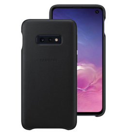 Samsung Samsung Galaxy S10e OEM Black Leather Cover